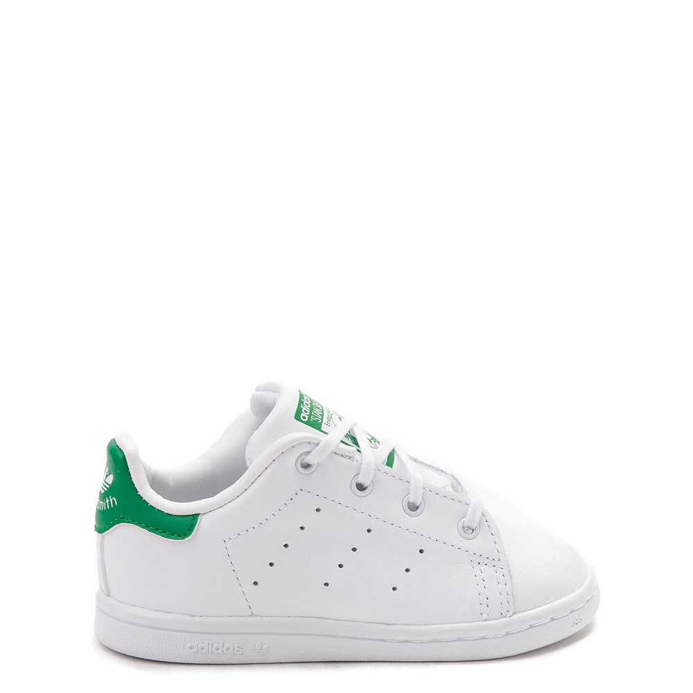 adidas Stan Smith Athletic Shoe - Baby / Toddler - White / Green