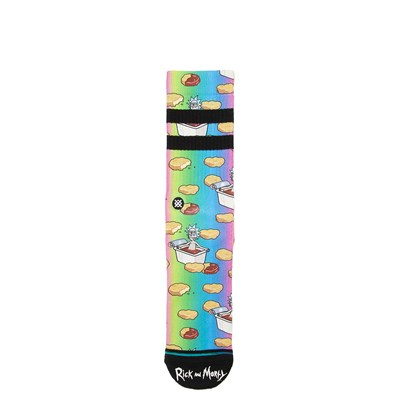 Main view of Mens Stance Rick and Morty Dipping Sauce Socks