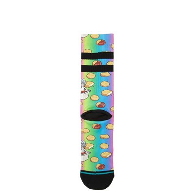Alternate view of Mens Stance Rick and Morty Dipping Sauce Socks