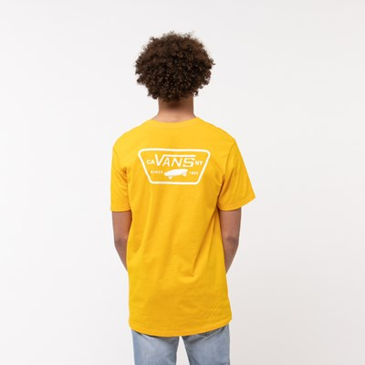 Main view of Mens Vans Full Patch Logo Tee