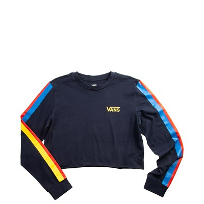 Main view of Womens Vans Rainee Cropped Long Sleeve Tee