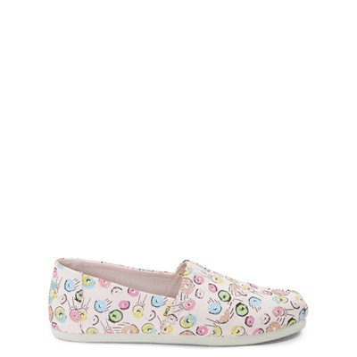 Main view of TOMS Classic Donuts Slip On Casual Shoe - Little Kid / Big Kid
