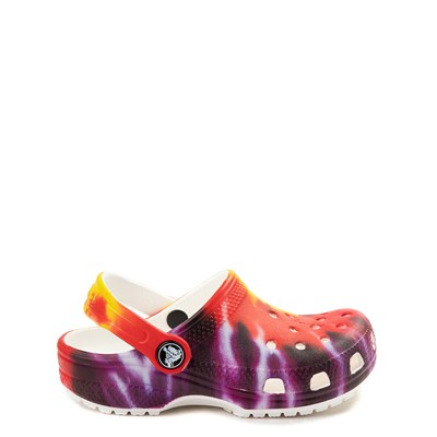 Main view of Crocs Classic Tie Dye Clog - Little Kid / Big Kid - Multi