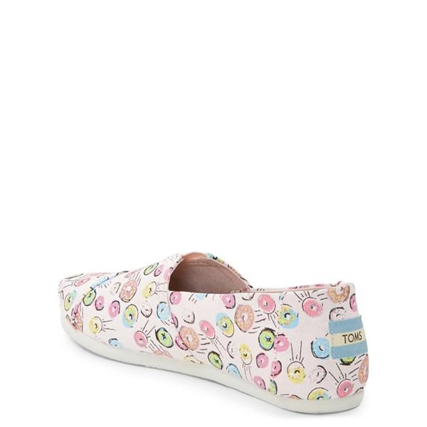 alternate image alternate view TOMS Classic Donuts Slip On Casual Shoe - Baby / Toddler / Little KidALT2