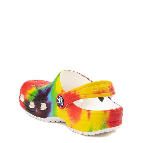 alternate image alternate view Crocs Classic Tie Dye Clog - Baby / Toddler / Little Kid - MultiALT1