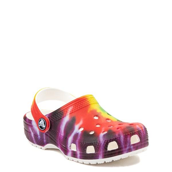 alternate image alternate view Crocs Classic Tie Dye Clog - Baby / Toddler / Little Kid - MultiALT5