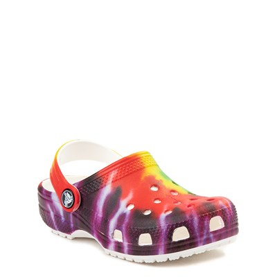 Alternate view of Crocs Classic Tie Dye Clog - Baby / Toddler / Little Kid - Multi