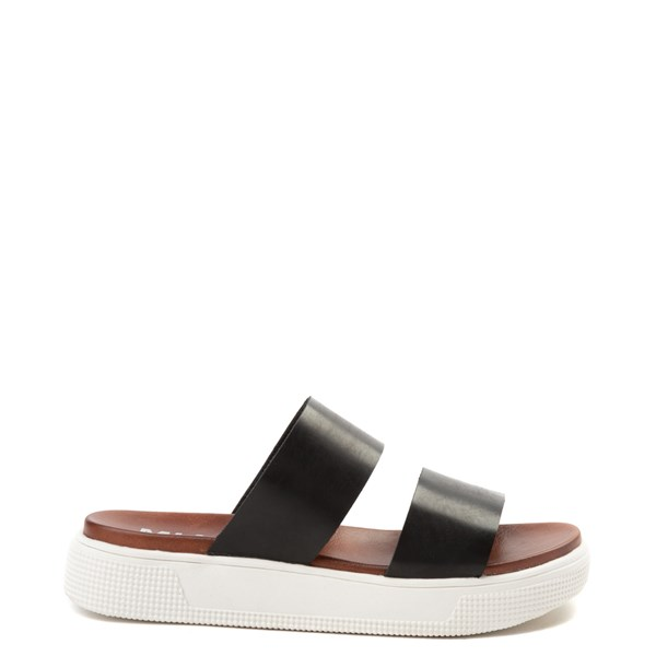 Main view of Womens MIA Saige Slide Sandal - Black