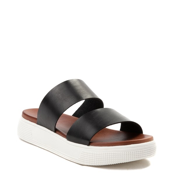 alternate image alternate view Womens MIA Saige Slide Sandal - BlackALT1
