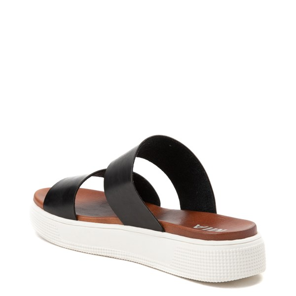 alternate image alternate view Womens MIA Saige Slide Sandal - BlackALT2