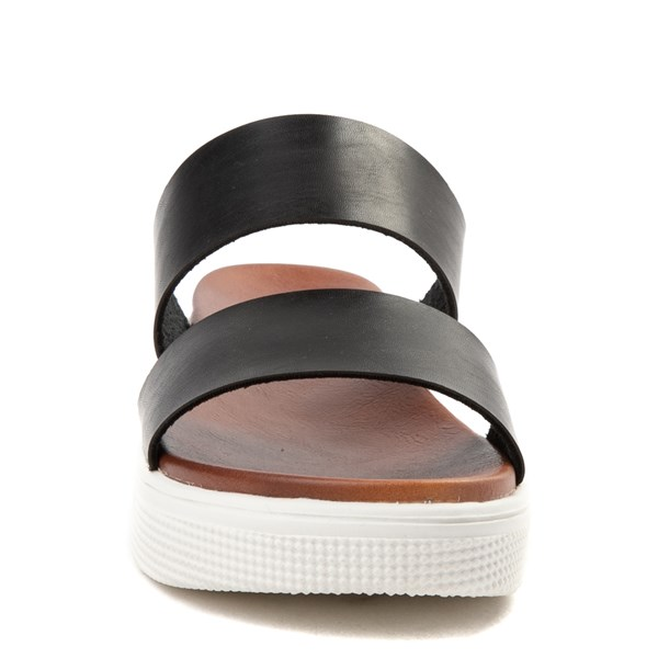 alternate image alternate view Womens MIA Saige Slide Sandal - BlackALT4
