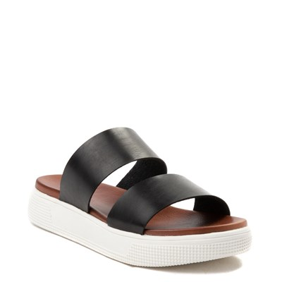Alternate view of Womens MIA Saige Slide Sandal - Black
