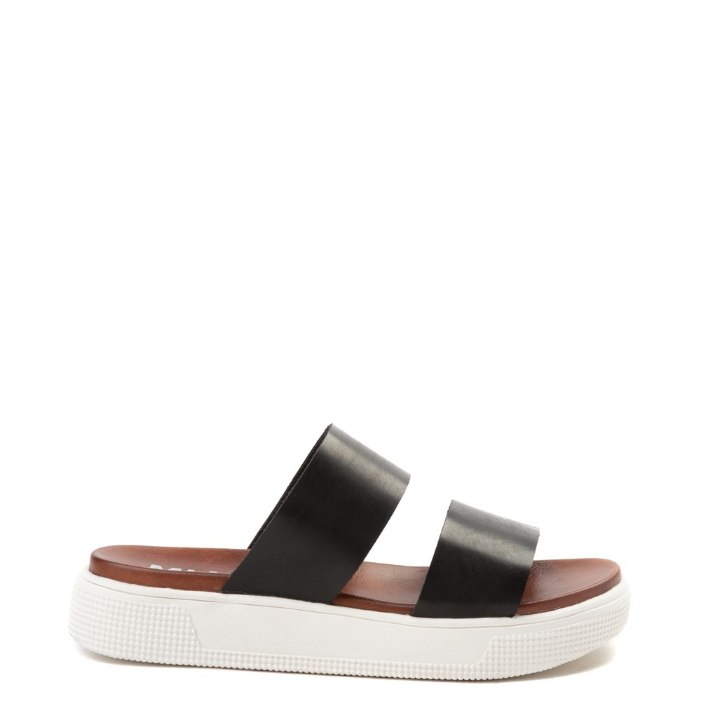 Womens MIA Saige Slide Sandal - Black
