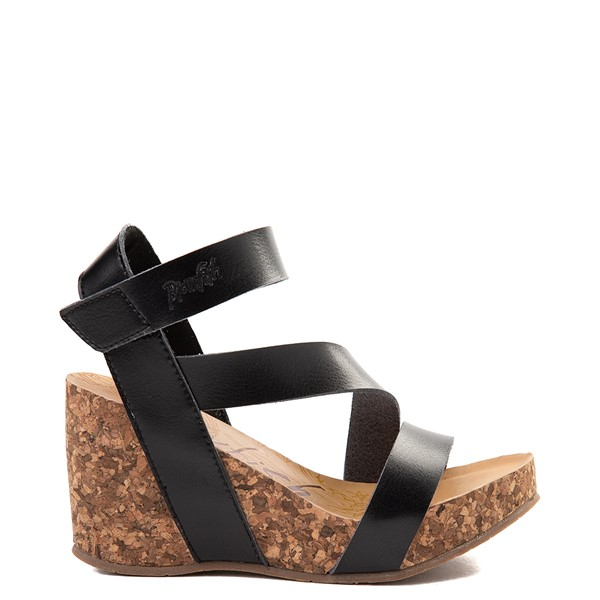 Womens Blowfish Hapuku Wedge - Black