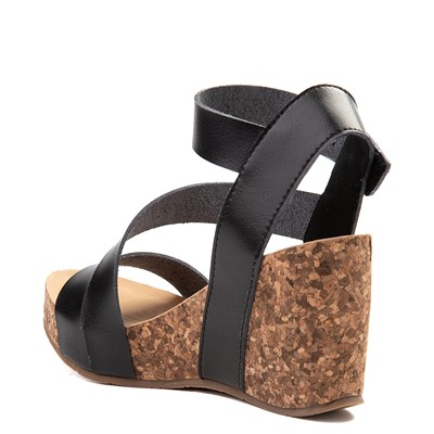 Alternate view of Womens Blowfish Hapuku Wedge - Black
