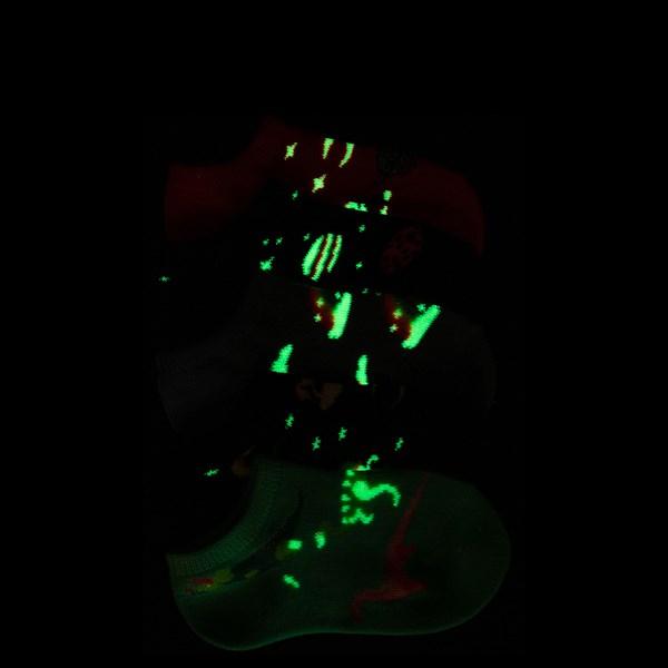 alternate image alternate view Dino Glow Socks 5 Pack - Girls ToddlerALT1