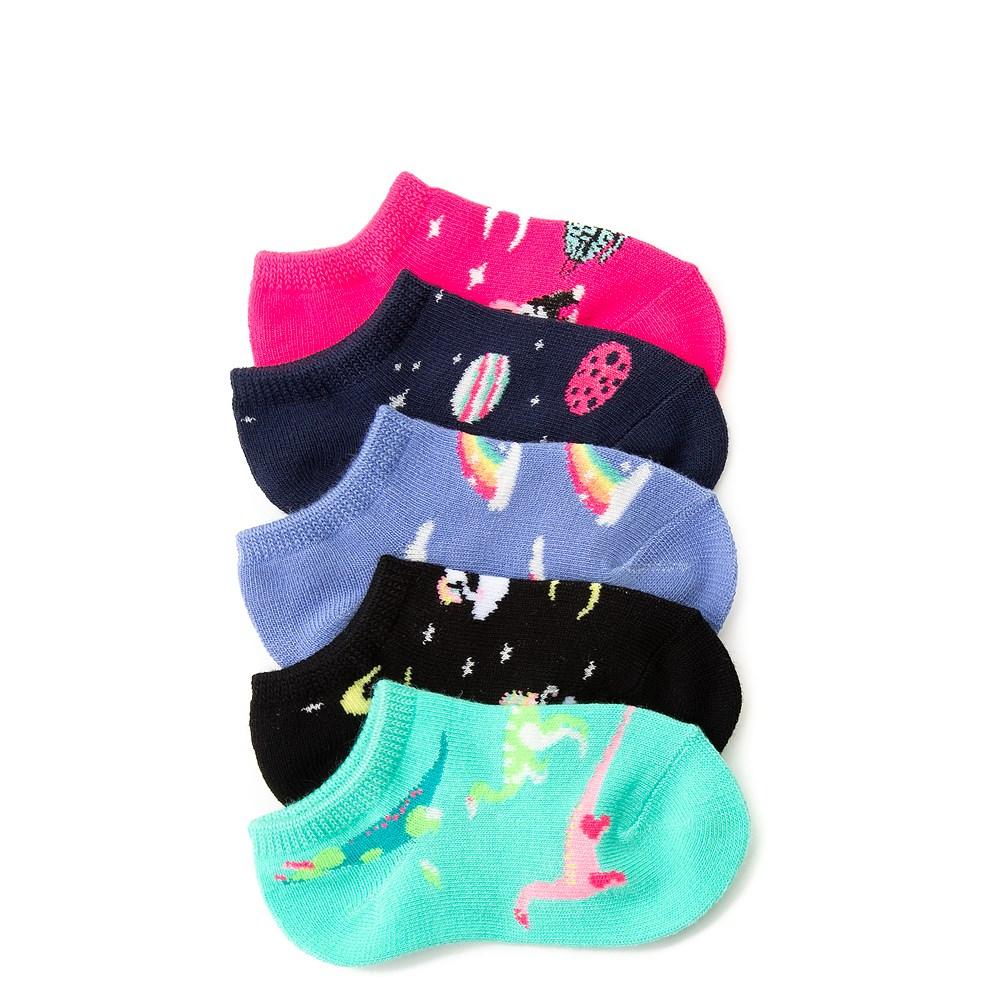 Dino Glow Socks 5 Pack - Girls Toddler