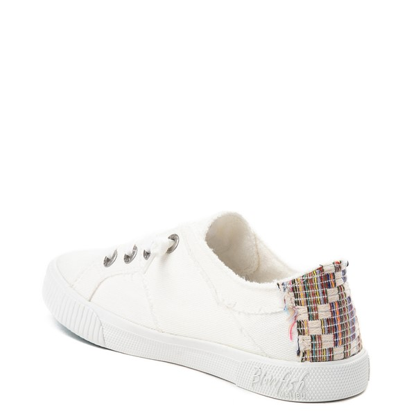 alternate image alternate view Womens Blowfish Fruit Slip On Casual Shoe - White / MultiALT1