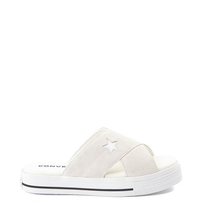 Main view of Womens Converse One Star Sandalism Slide Sandal