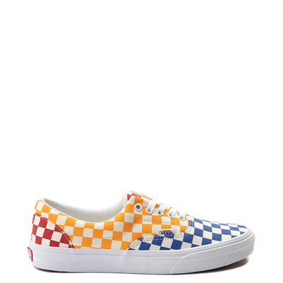 Main view of Vans Era Color-Block Chex Skate Shoe