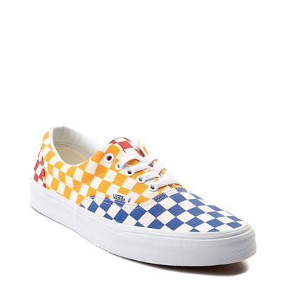Alternate view of Vans Era Color-Block Chex Skate Shoe