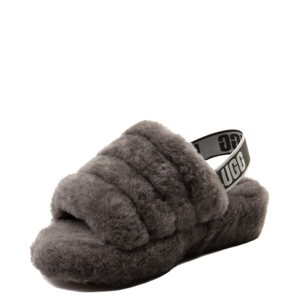 alternate image alternate view Womens UGG® Fluff Yeah Slide SandalALT3