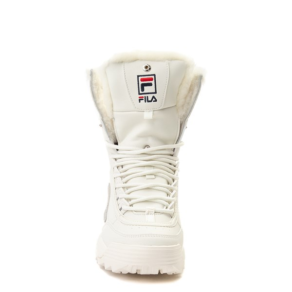alternate image alternate view Womens Fila Disruptor Shearling Athletic ShoeALT4
