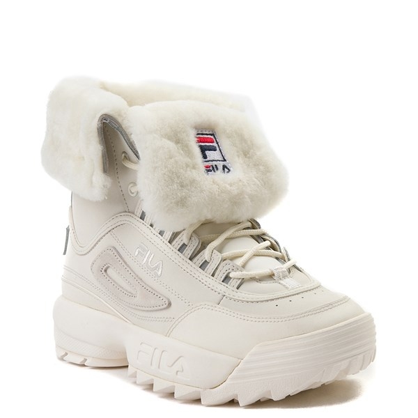 alternate image alternate view Womens Fila Disruptor Shearling Athletic ShoeALT1