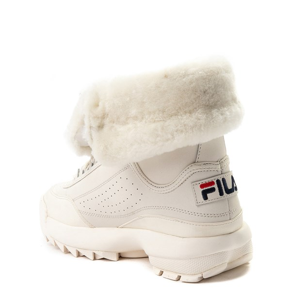 alternate image alternate view Womens Fila Disruptor Shearling Athletic ShoeALT2