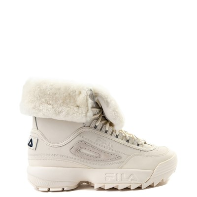 Main view of Womens Fila Disruptor Shearling Athletic Shoe