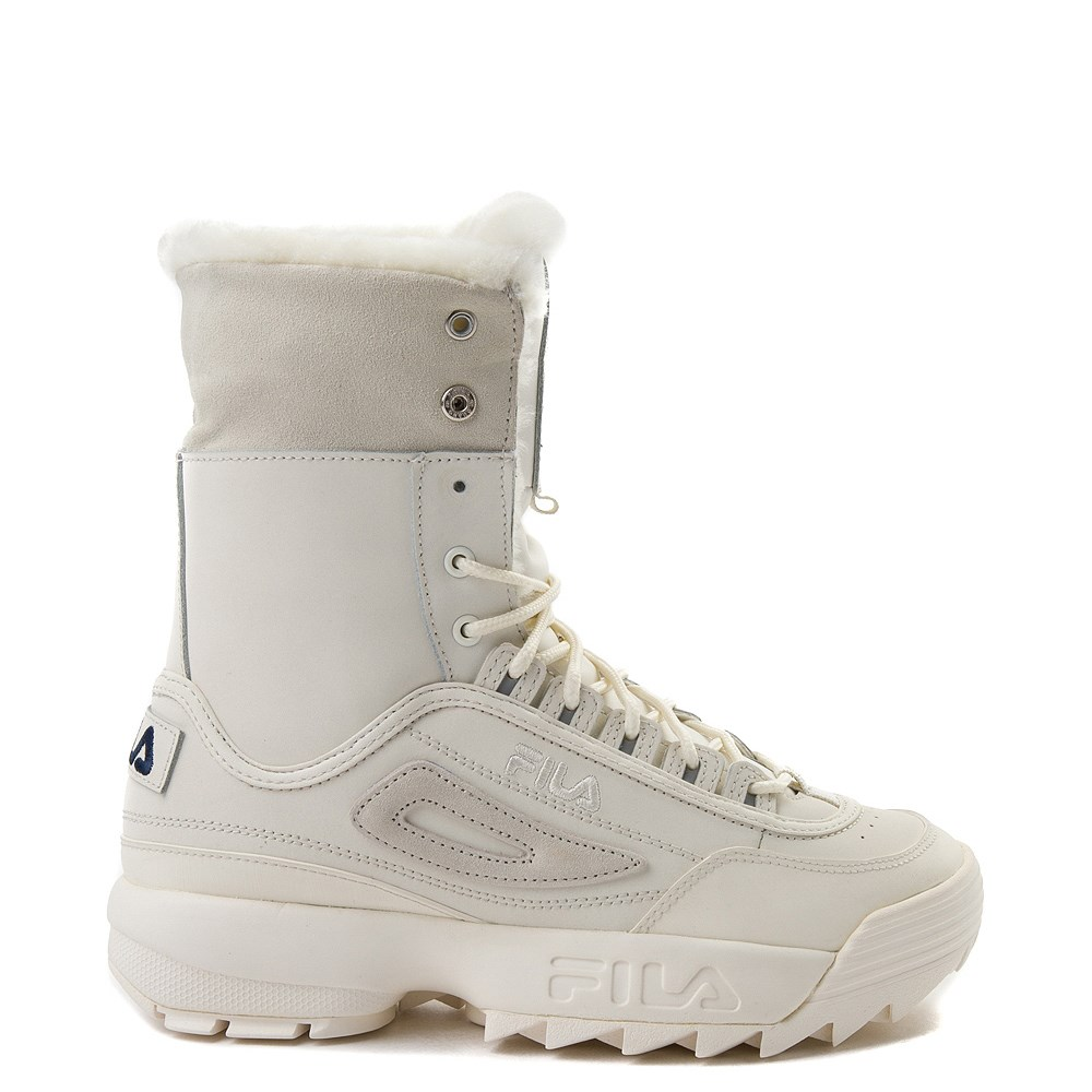 b111e8f8a7 Womens Fila Disruptor Shearling Athletic Shoe