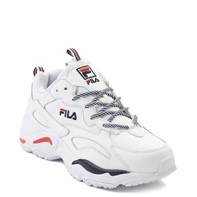 Alternate view of Womens Fila Ray Tracer Athletic Shoe - White