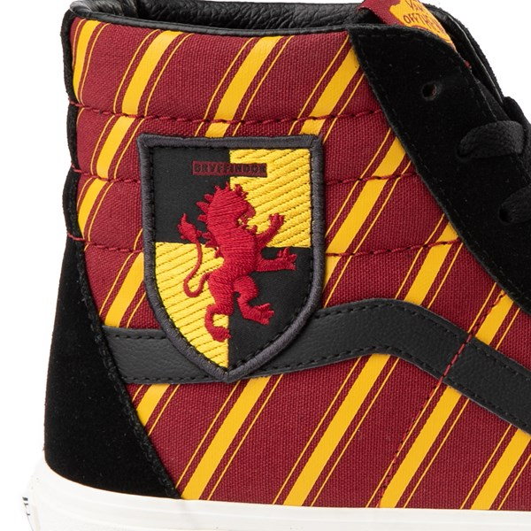 alternate image alternate view Vans x Harry Potter Sk8 Hi Gryffindor Skate Shoe - Little KidALT6