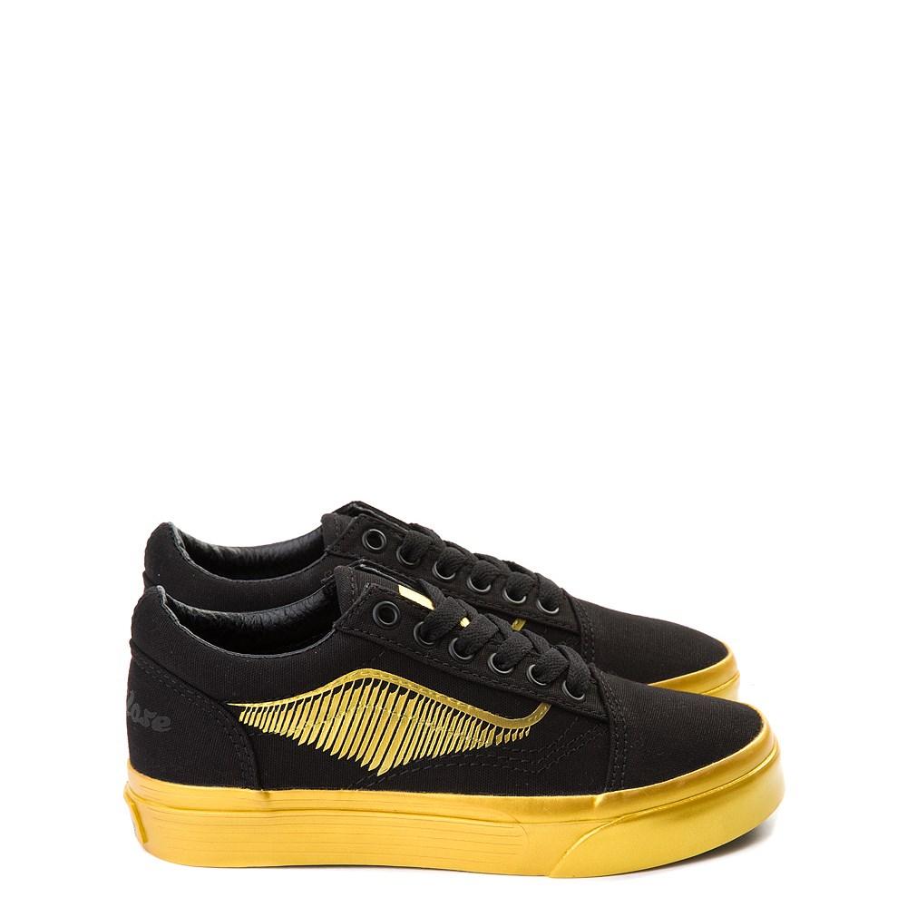Vans x Harry Potter Old Skool Golden Snitch Skate Shoe - Little Kid / Big Kid