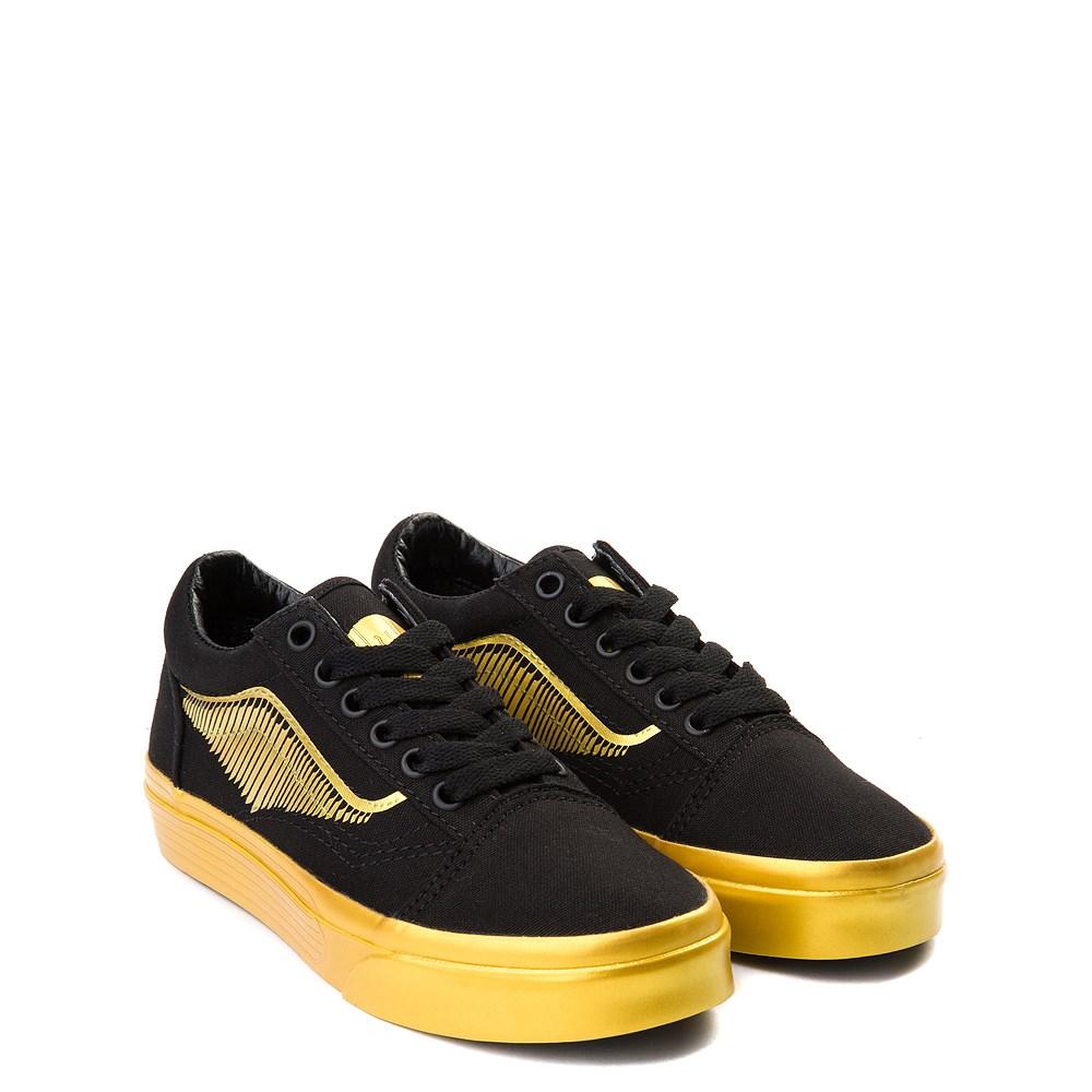Vans x Harry Potter Old Skool Golden Snitch Skate Shoe Little Kid Big Kid