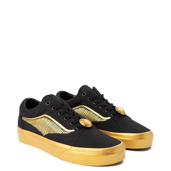 alternate image alternate view Vans x Harry Potter Old Skool Golden Snitch Skate ShoeALT1