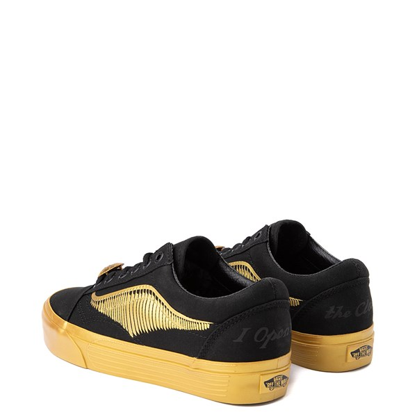 alternate image alternate view Vans x Harry Potter Old Skool Golden Snitch Skate ShoeALT2