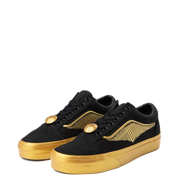 alternate image alternate view Vans x Harry Potter Old Skool Golden Snitch Skate ShoeALT3