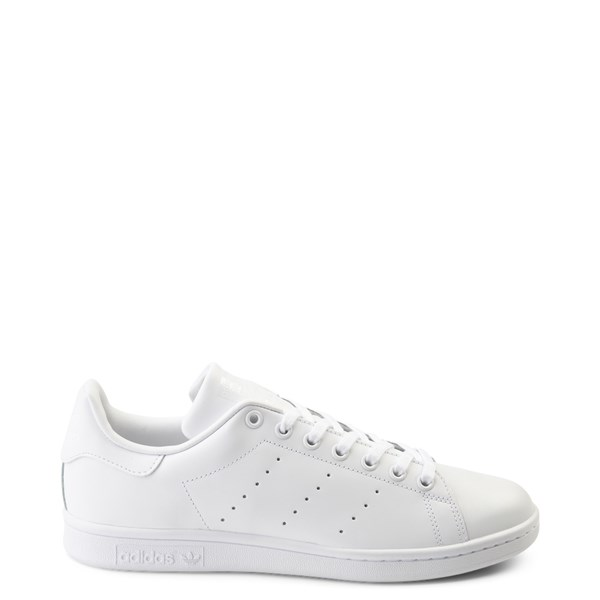 Mens adidas Stan Smith Athletic Shoe - White Monochrome