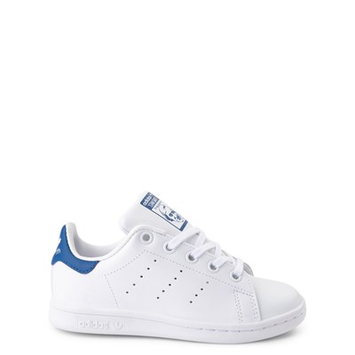 Main view of adidas Stan Smith Athletic Shoe - Little Kid
