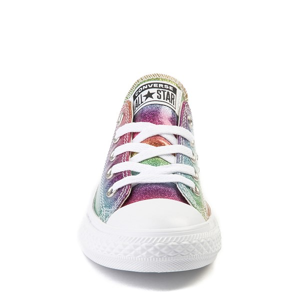 alternate image alternate view Converse All Star Lo Rainbow Glitter Sneaker - Little KidALT4