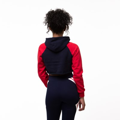 Alternate view of Womens Fila Luciana Cropped Hoodie
