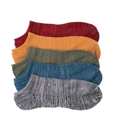 Alternate view of Mens Super Soft Low Cut Socks 5 Pack