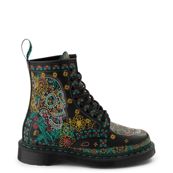 Dr. Martens 1460 8-Eye Day of the Dead Boot