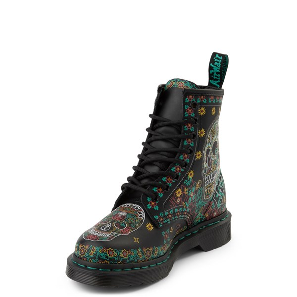 alternate image alternate view Dr. Martens 1460 8-Eye Day of the Dead BootALT3