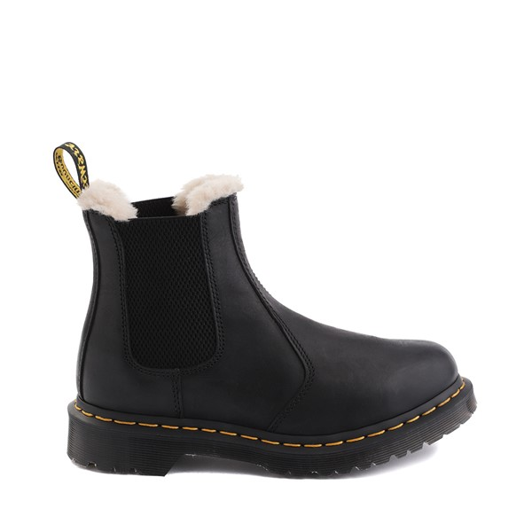 Main view of Womens Dr. Martens 2976 Leonore Chelsea Boot - Black