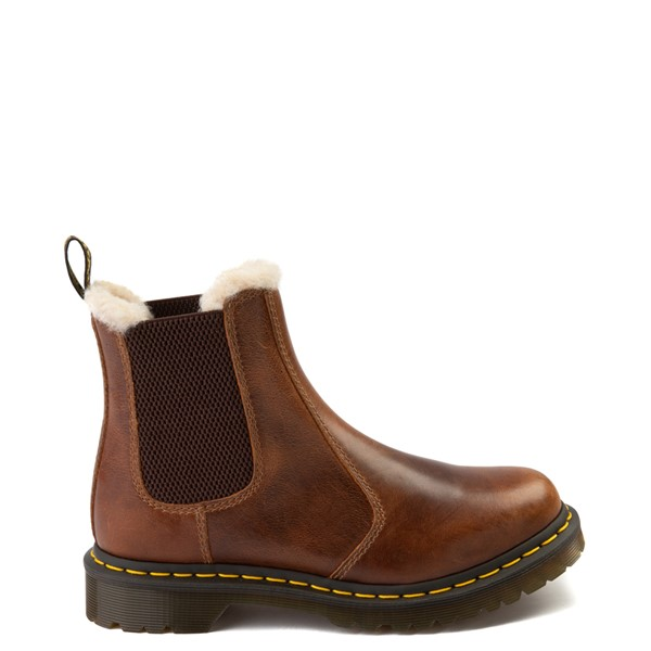 Main view of Womens Dr. Martens 2976 Leonore Chelsea Boot - Butterscotch