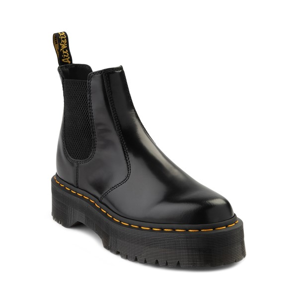 alternate image alternate view Dr. Martens 2976 Platform Chelsea Boot - BlackALT5
