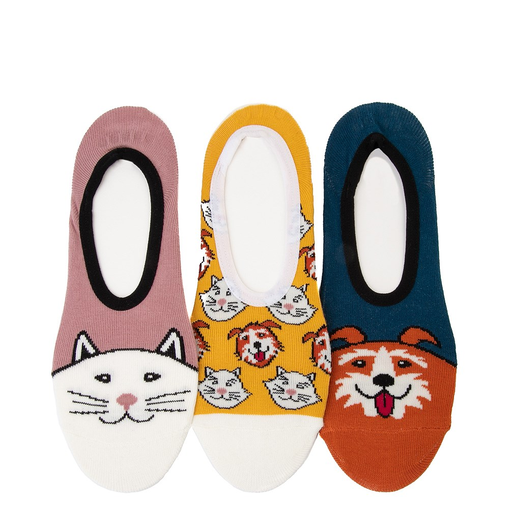 Womens Vans Best Buds Canoodle Liners 3 Pack