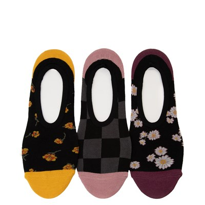 Main view of Womens Vans Floral Frenzy Canoodle Liners 3 Pack